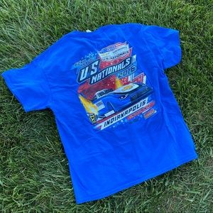 Graphic racing US national tee Lucas oil Indy xl